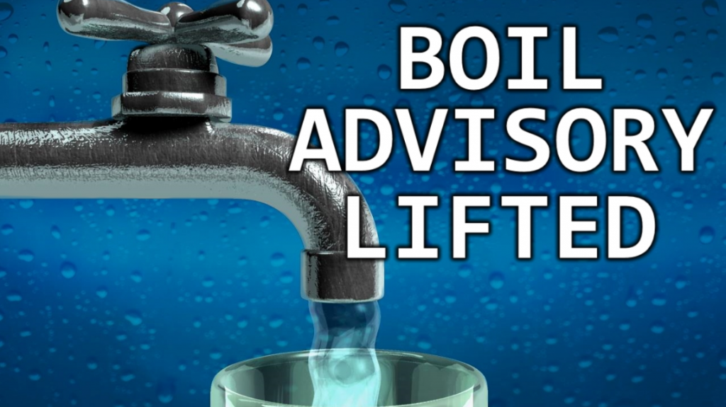 Boil water advisory_lifted